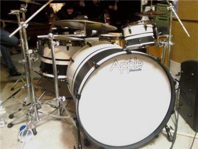 maple drum set