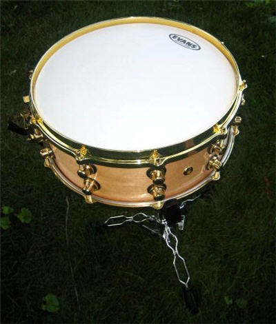 custom made snare drum