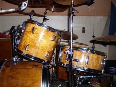 custom made drum set