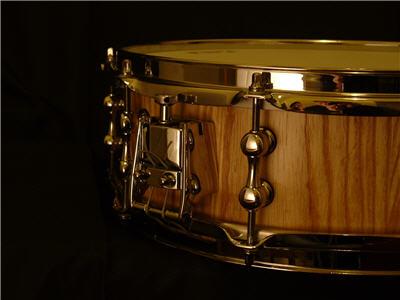 custom built snare drum